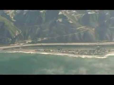 Flight to Santa Barbara