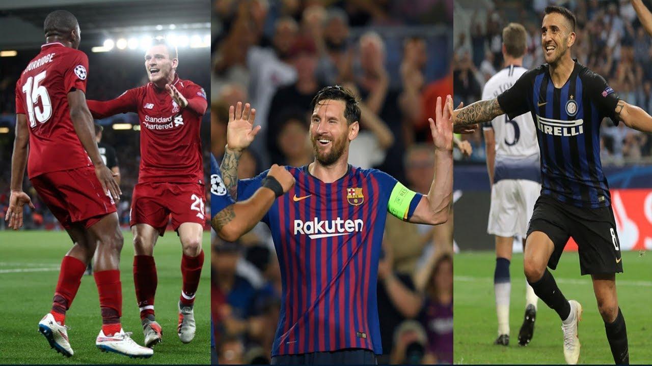 Resultados De La Champions League Hoy 18 De Septiembre