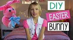 DIY Easter Bunny | Easy Kids Crafts