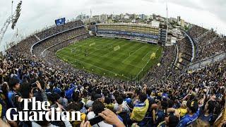 Boca Juniors fans fill La Bombonera to watch training before Copa Libertadores final