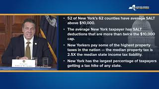 Governor Cuomo and Comptroller Dinapoli Deliver Update on State Revenues and The Impact Of SALT
