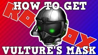 How to Get Vulture's Mask | Roblox Spiderman Homecoming Event
