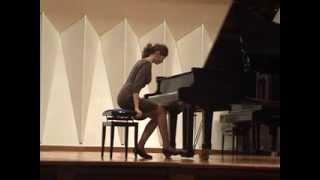 Piano 2013. 7.daļa. V.Dārziņš, I.Stravinskis. Divas prelūdijas. Spēlē Viktorija Trofimova