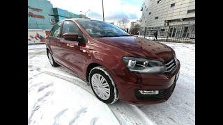 Volkswagen Polo V рестайлинг 2018 AT краткий обзор.  Авто в продаже