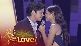 """James, Nadine sing """"Say You'll Never Go/On The Wings Of Love"""""""