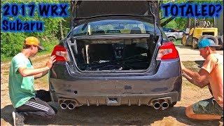 Rebuilding A Wrecked 2017 Subaru WRX