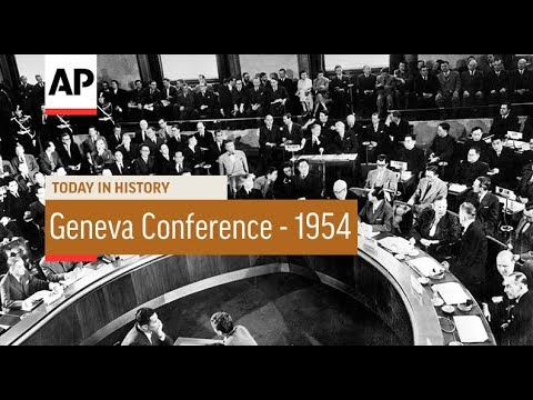 Geneva Conference Begins - 1954 | Today In History | 26 Apr 18