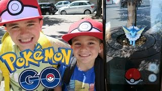 VLOG - LA CHASSE DE JEUNES DRESSEURS POKEMON GO - Pokémon RARE - 2/2