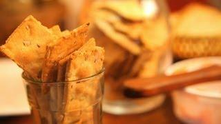 Organic Whole Wheat Seed Crackers By Megha