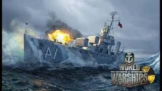 World of Warships 68(G) Nagato, Hood, Iron Duke