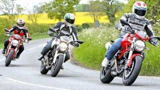 Ducati Monster test - 796 v 696 v 1100