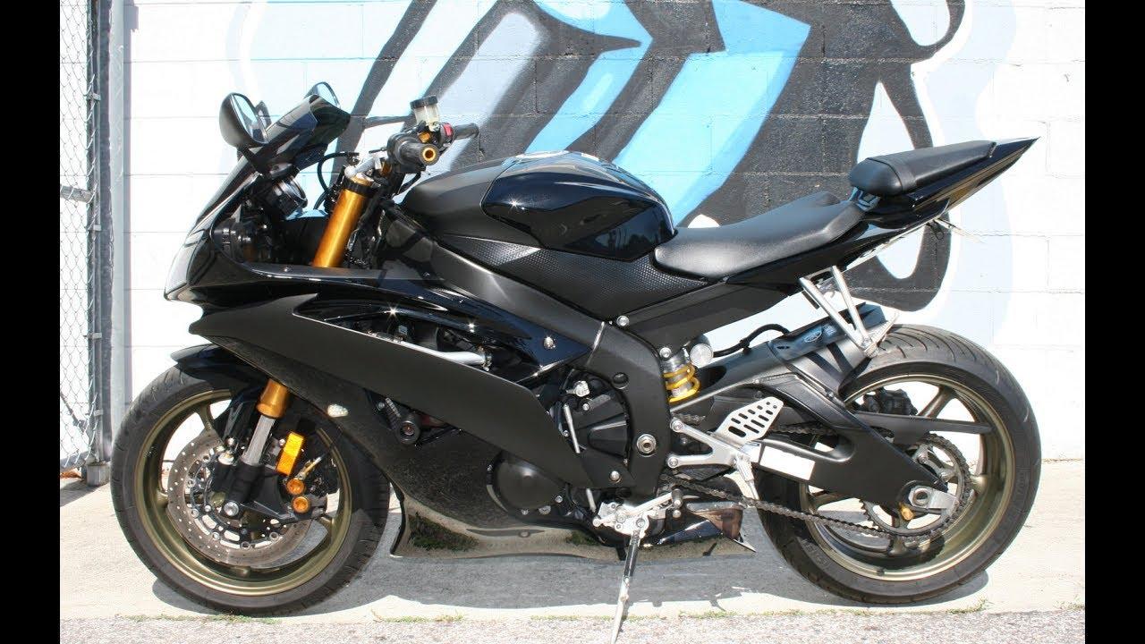2008 Yamaha YZF600 R6    Very Clean w LSL Handlebar Riser Kit