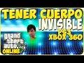 TRUCOS GTA 5 ONLINE - COMO TENER EL CUERPO INVISIBLE - GTA 5 PS3, XBOX 360
