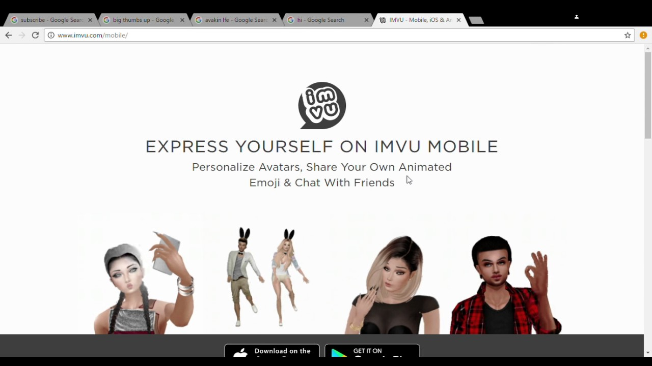 How to get imvu on a pc/laptop