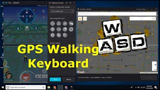 Pokemon GO On PC Guide To Walking Correctly With GPS Walking Keyboard