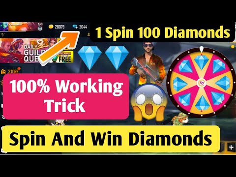 Spin And Win Unlimited Diamonds In Free Fire 100% Working || How To Get Free Diamonds In Free Fire