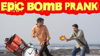 Epic Diwali Bomb Prank - Chetan | Prank in India - Baap of Bakchod