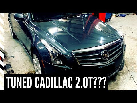 Tuning Cory's Stock Cadillac ATS 2.0T With HP Tuners
