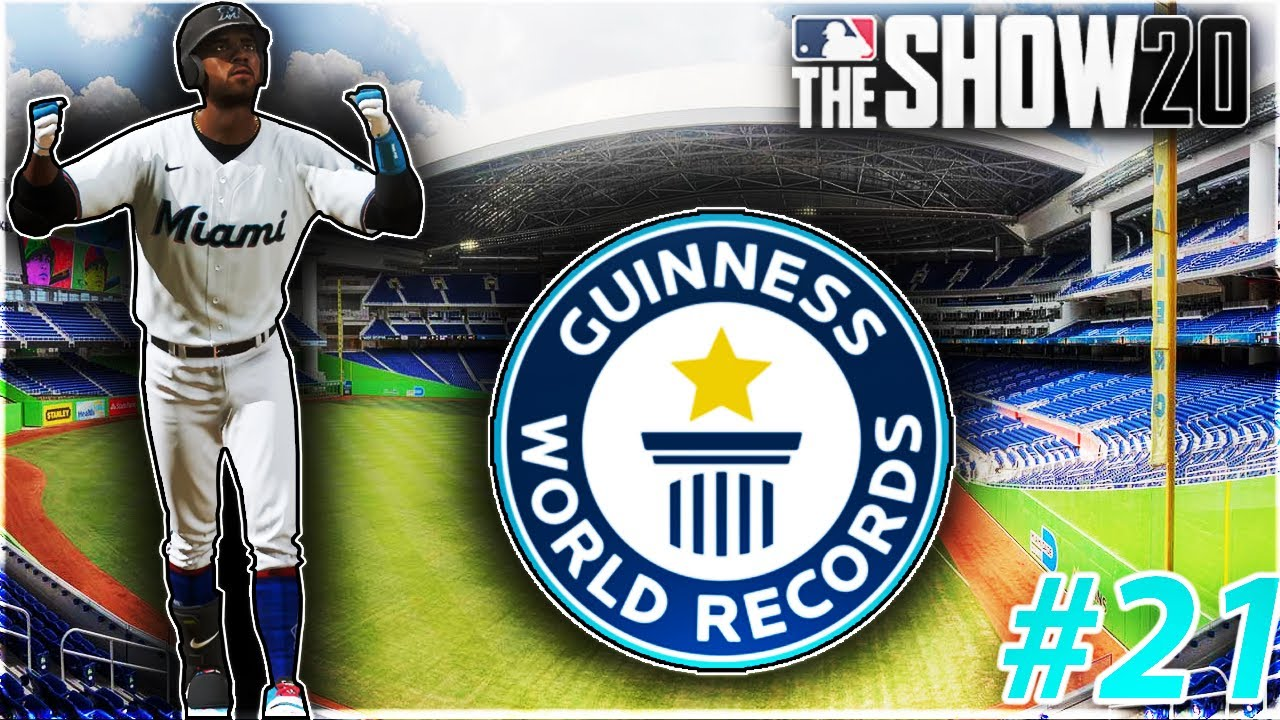 I accidentally broke an impossible baseball record - MLB The Show 20 Road To The Show RTTS #21