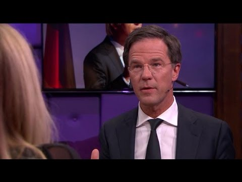 Rutte: Brief geen reactie op Wilders - RTL LATE NIGHT