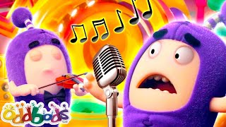 ODDBODS | Music To My Ears? | Cartoons For Kids