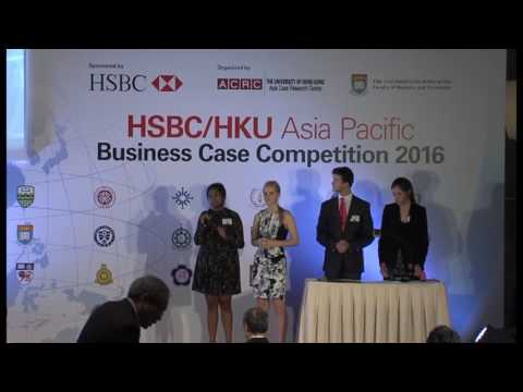 2016 Round 4 Team 4 HSBC/HKU Asia Pacific Business Case Competition