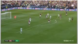 James Forrest/Ryan Christie Goal Celtic 2-0 Hearts (28/10/18)