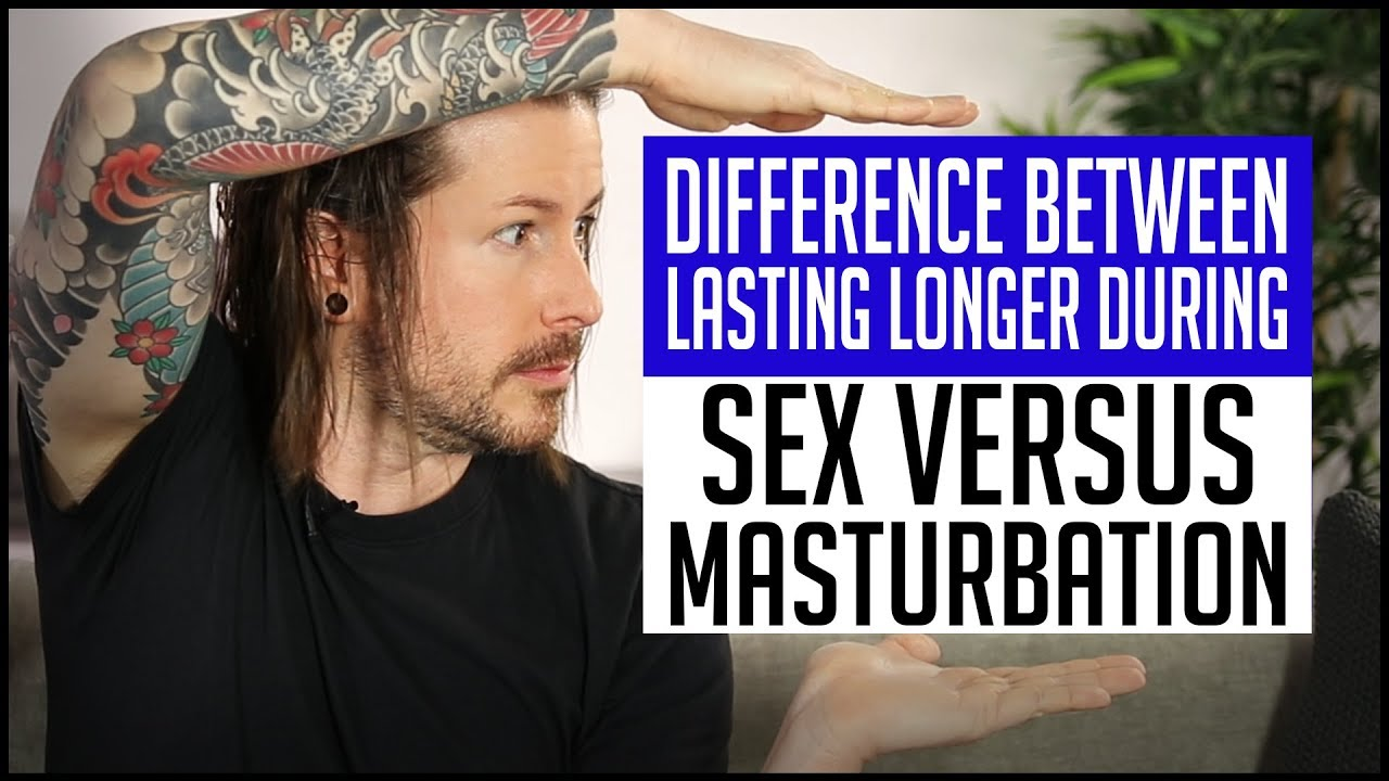 Differences between masturbation and sex male