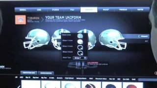NCAA Football 10: Team Builder