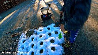 Самодельный электро бур для зимней рыбалки из запчастей для автомобиля