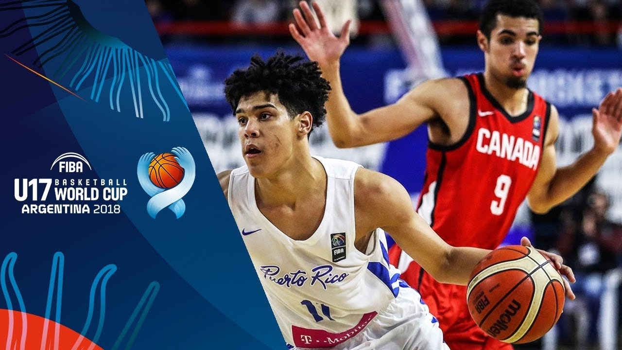 Puerto Rico v Canada - 3rd Place - Full Game