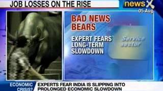NewsX: Global economy set to shrink, India loses half-a-million jobs