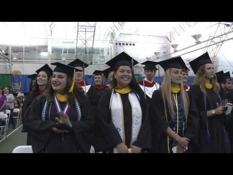 2017 The College of New Jersey School of Engineering Commencement Ceremonies