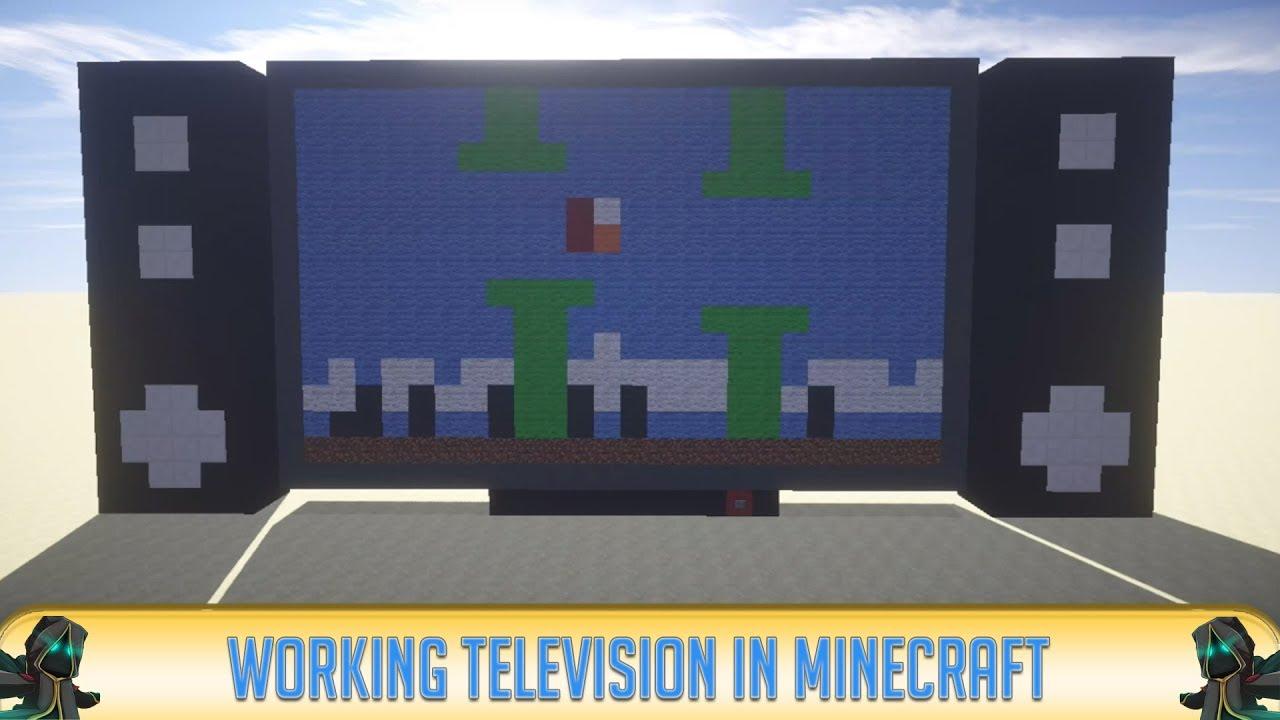 minecraft mind blowing working tv youtube
