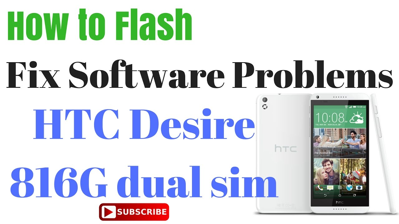 HTC Desire 816G Flash done with Flash tool by GsmHelpFul