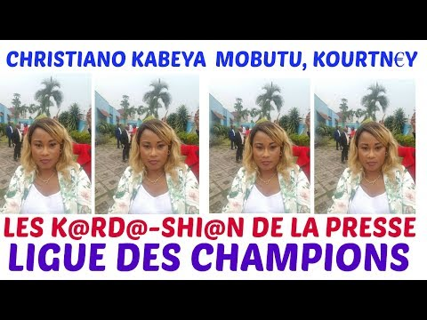AYIII  BA LES K@RD@-SHI@N DE LA PRESSE, BASENGISI EQUIPE NATIONALE PARDON, CHRISTELLE KABEYA MOBUTU