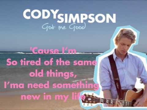 Cody Simpson Got Me Good Karaoke - Sing With Cody!!!