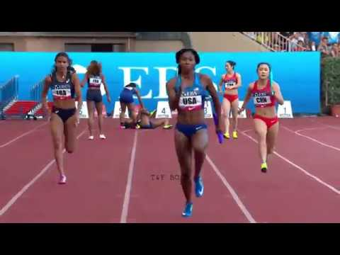 Women's 4x100m Relay - Monaco Diamond League 2017