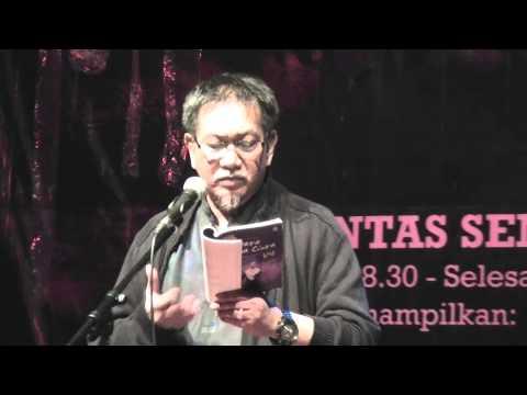 Deddy Mizwar Baca Puisi untuk Palestina