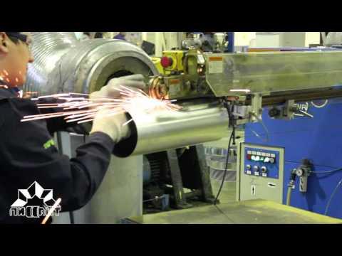 Отвод 90 (круглый) из оцинкованной стали