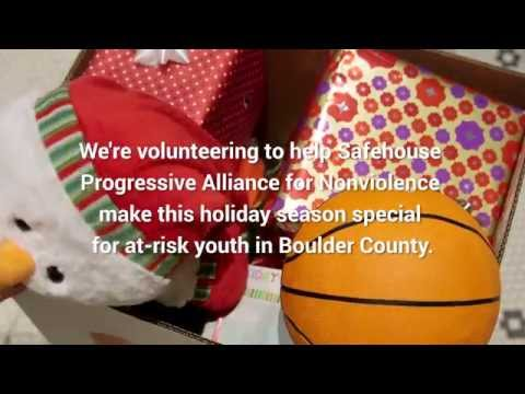 Help support Safehouse Progressive Alliance for Nonviolence #HolidaySpirit