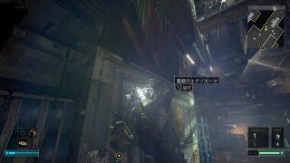 【Deus Ex MANKIND DIVIDED 実況#10】 エグゾスーツの隙間をスナイプするハイテクおじさん 【日本語音声・字幕】