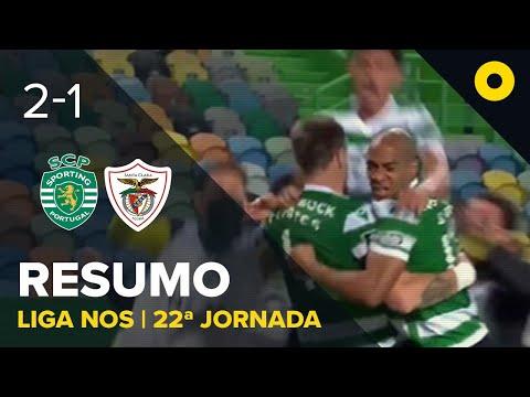 Resumo: Sporting 2-1 Santa Clara - Liga NOS | SPORT TV