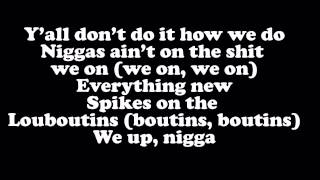 50 Cent - We Up ft. Kendrick Lamar & Kidd Kidd [Full] (Lyrics On Screen)
