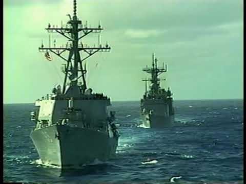 WestPac 99 / USS Constellation Tiger Cruise Video