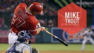 Mike Trout 2017 Highlights