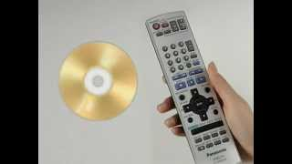 DMR-E55 Panasonic DVD Recorder Demo