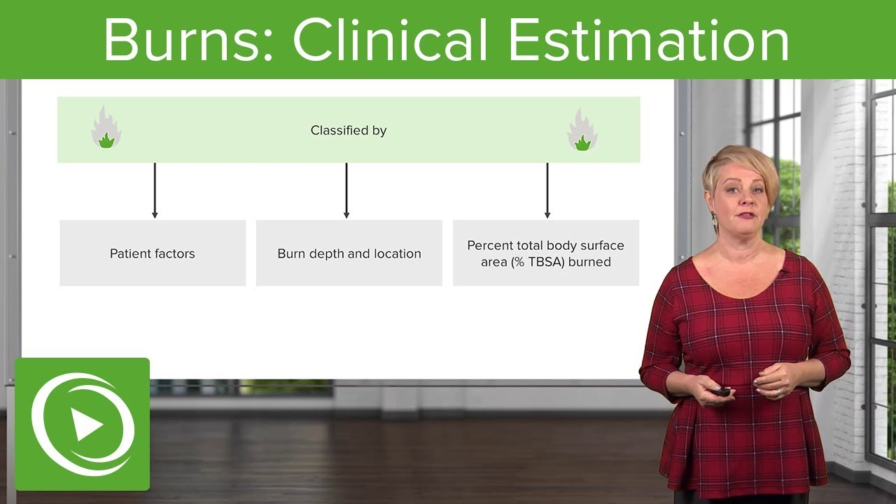 Burns: Clinical Estimation – Emergency Medicine | Lecturio