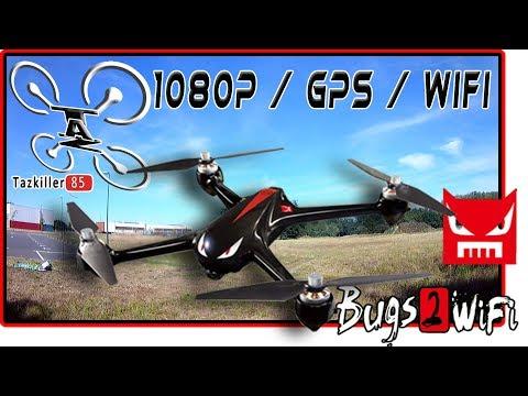 MJX BUGS 2 WiFi, Drone GPS 1080p, Review Test Démo / Propre et Efficace !