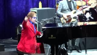 Elton John Live 2013 - Concert Opener =] The Bitch is Back [= Houston, Tx - Toyota Center - 3/28